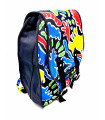 Colourful Canvas Back-Pack
