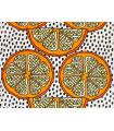 Orangelilja canvas fabric - Heavy 100% cotton