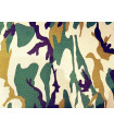 Camoflage canvas fabric - Heavy 100% cotton