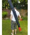 Black Canvas Custom Heavy Duty Zipped Weapons Bag